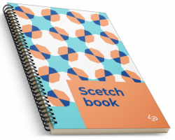 Блокнот TM Profiplan «Creamy sketch book» one , A5