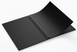 Блокнот TM Profiplan «Black sketch book» two, A5